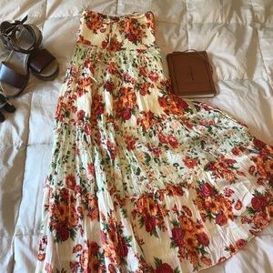 Floral Strapless🌼